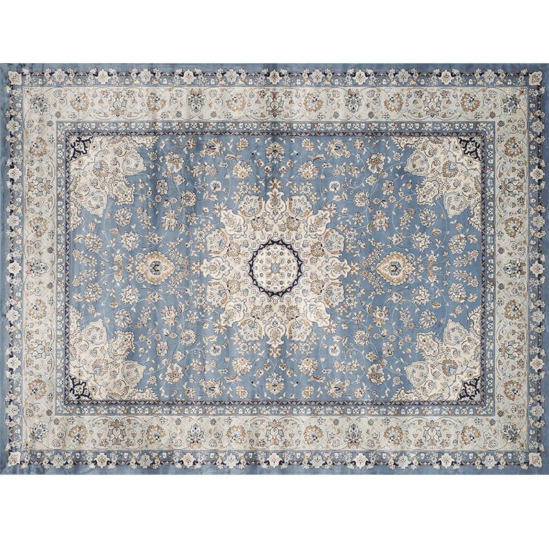 Salon marocain tapis maison Vintage tapis pour chambre américain tapis canapé Table basse tapis étude chambre ethnique tapis de sol - 3