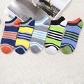 3Pair Striped Colorful Ankle Socks Men Chaussette Homme Lot  Invisible Calcetines Socks For Men Happy Socks Compression
