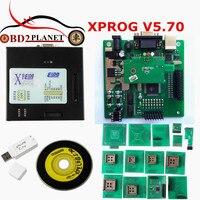 2017 Yeni Varış XPROG V5.70 Son Sürüm XPROG-M V5.70 USB Dongle Ile XPROG Siyah Metal Box ECU Programcı Hızlı Kargo