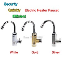 NEW 220V 360 Rotation Electric Heater Faucet Kitchen Faucet Fast Heat Heater Instant Water Tap Water Heater Kitchen Faucets CP17