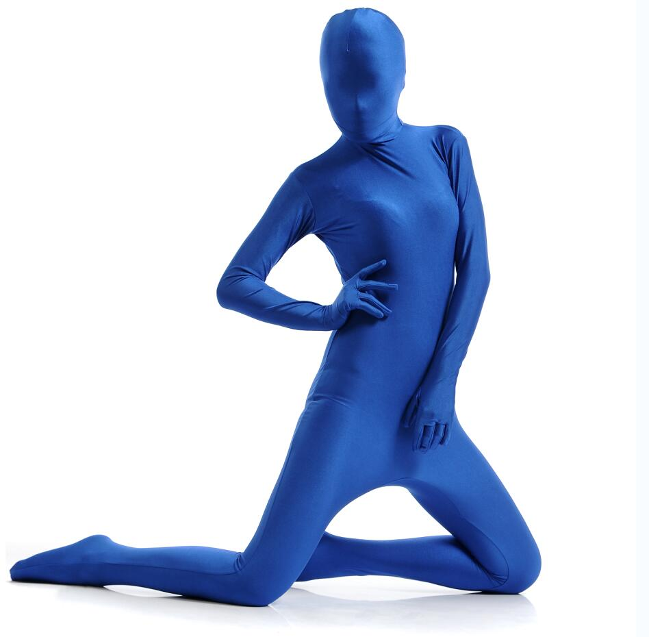 High Quality Zentai Costumes Full Body Cosplay Clothes Skin Suit Catsuit Halloween Costumes Adult Bodysuit Unisex