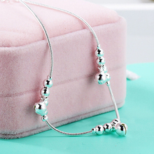 24PCS Women Fashion 3Pcs Bells 12 Beads Luxury Chain Ankle Bracelet Beach Anklet