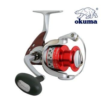 OKUMA LOE II 2000 High Quality Fishing Reel Spinning Reel Gear Ratio 5.0:1 Ball Bearing 6+1 Lure Reel Sea River Fishing Tackle