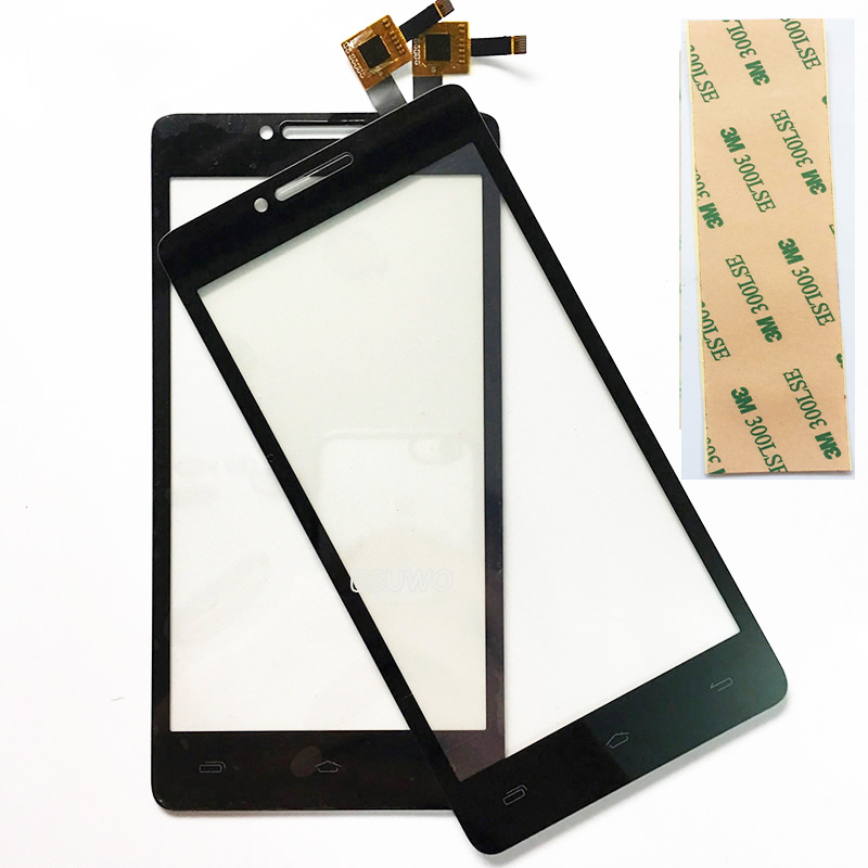 Black 5.0 inch Touchscreen Glass Panel For Prestigio MultiPhone PAP5500 PAP 5500 DUO Sensor Touch Screen Digitizer Replacement