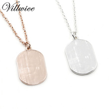 """""""In the middle of difficulty lies opportunity"""" pendant necklace"""