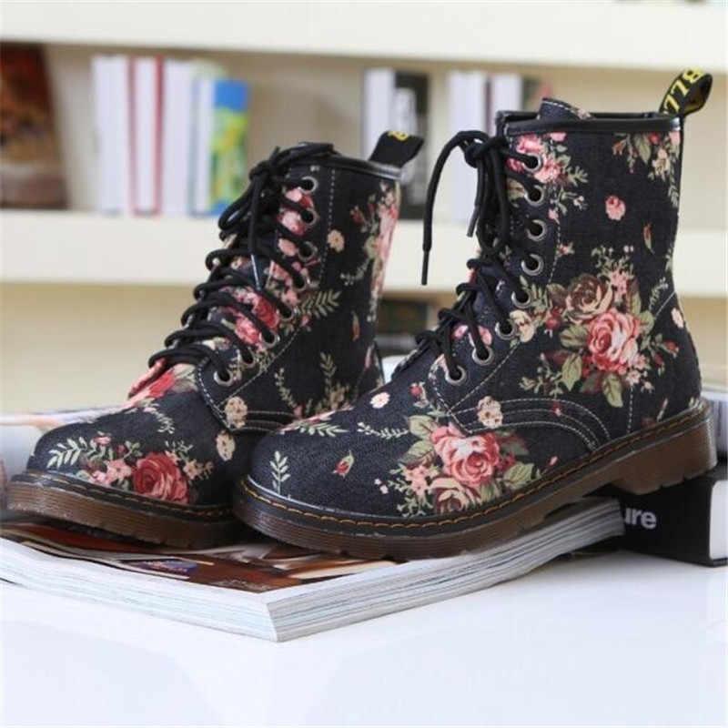 คุณภาพสูงรองเท้าผู้หญิง 2019 ใหม่แฟชั่นดอกไม้พิมพ์รองเท้าเด็กหญิงรองเท้าสบายๆลูกไม้รองเท้า
