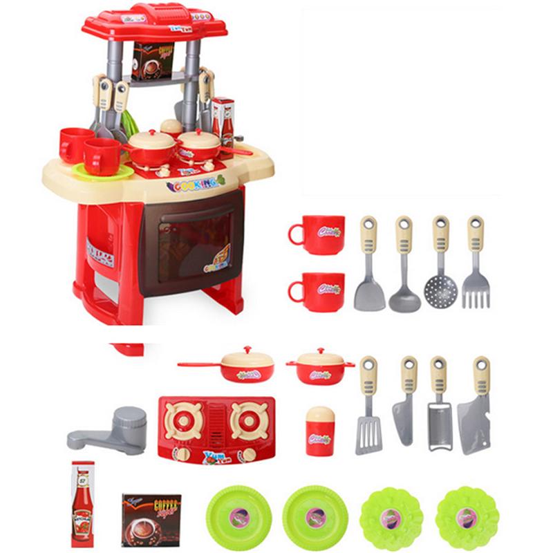 cocina de la familia serie juguetes para nias de colores juego de simulacin de cocina