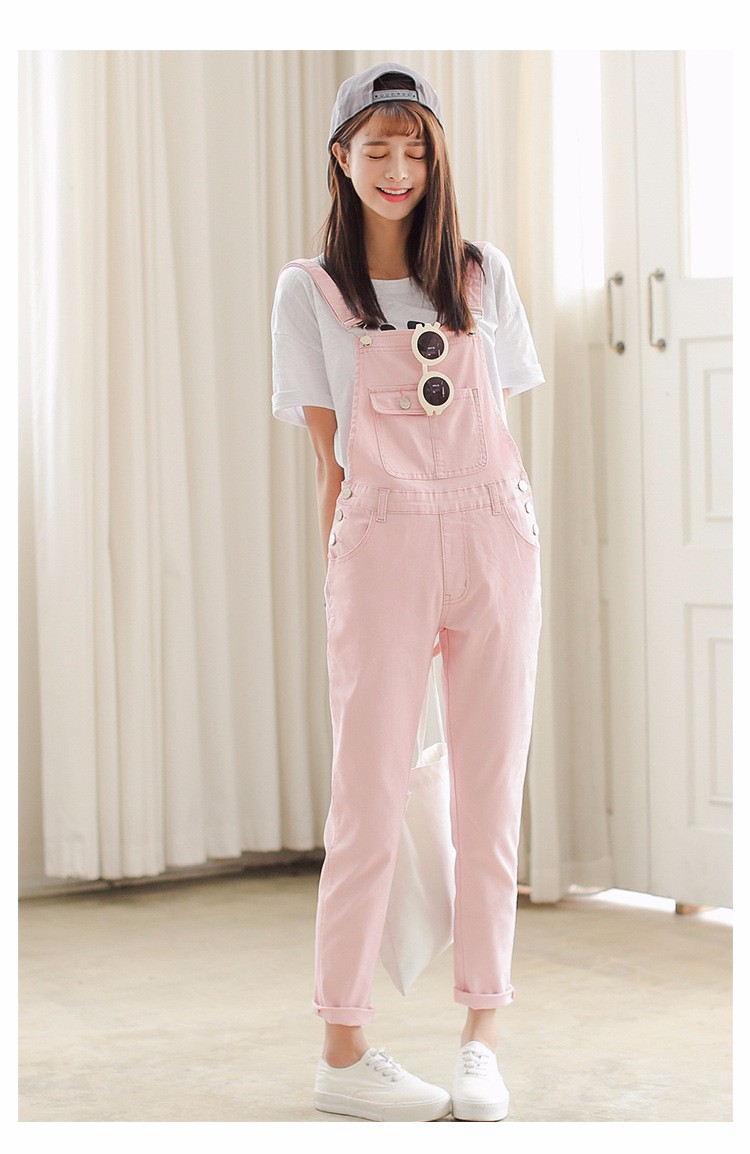 a067f84380d View More In Our Sotre   http   www.aliexpress.com store 1749407. Moblie  Scanning. Moblie Shopping is more affordable. 4 Colors Denim Jumpsuit 2017  Korean ...