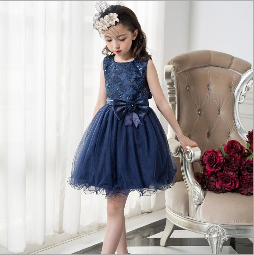b3a8405c9a US $22.99 8% OFF|high quality big Girls Dresses BLINGBLING Baby Clothes  Princess sequin party Clothes toddler kids dress summer 3t 10-in Dresses  from ...