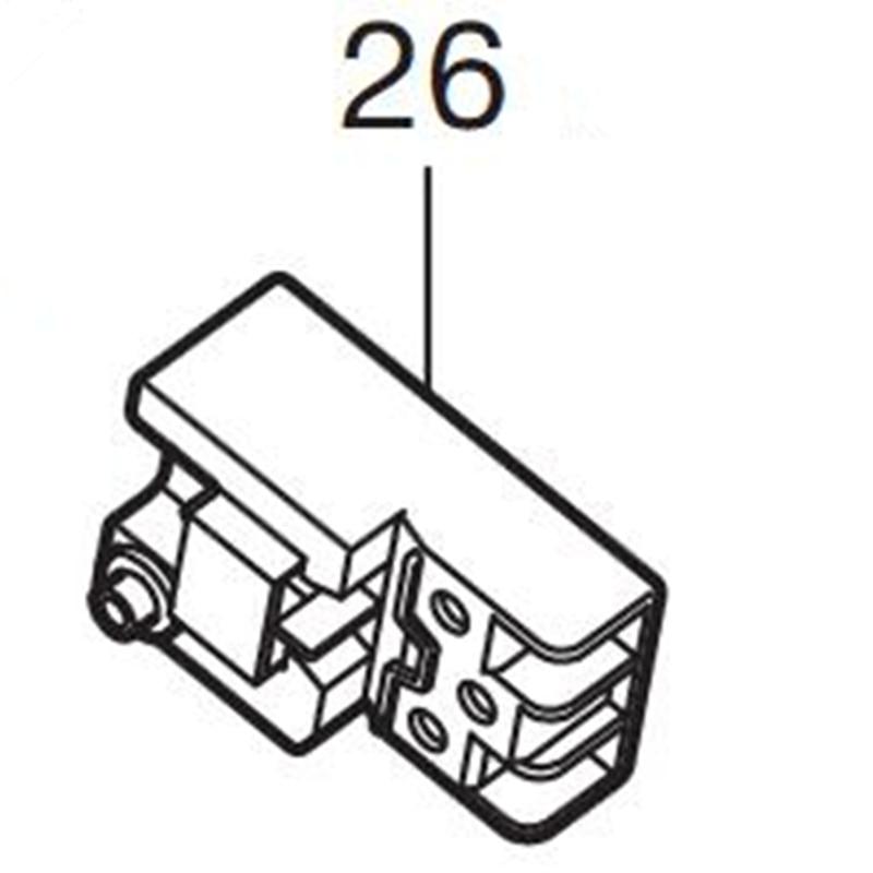 Genuine Switch For Makita 651938-8 LS1216 LS1216L BUC121 5103R 5143R бра leds c4 buc 05 4901 19 e4