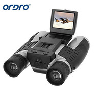 FS608 2 FHD Camera Binoculars Folding 12x32 5MP Video Recorder Digital DV Camcorder LCD HD 1080P