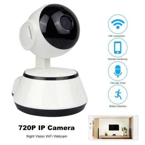 US $167 8  720P HD WiFi IP Camera Wireless Home Video Camera APP Remote  Control Security IR Night Vision CCTV Camera Baby Monitor-in Surveillance