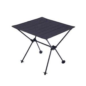 Image 2 - Portatile Leggero Allaperto Tavolo Per Tavolo Da Campeggio In Lega di Alluminio di Picnic Barbecue Tavoli Pieghevoli Outdoor Tavel Portatile Tavoli