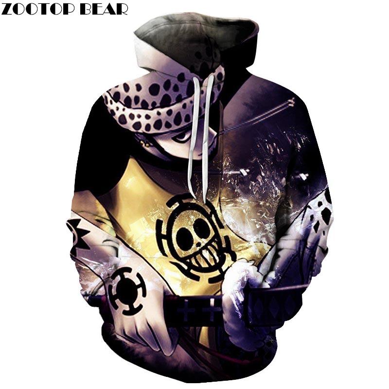 One Piece Arrow 3D Print Brand Casual Hoody Sweatshirts Men Tracksuit Hoodie Pullover Streetwear Coat Unisex DropShip ZOOTOPBEAR