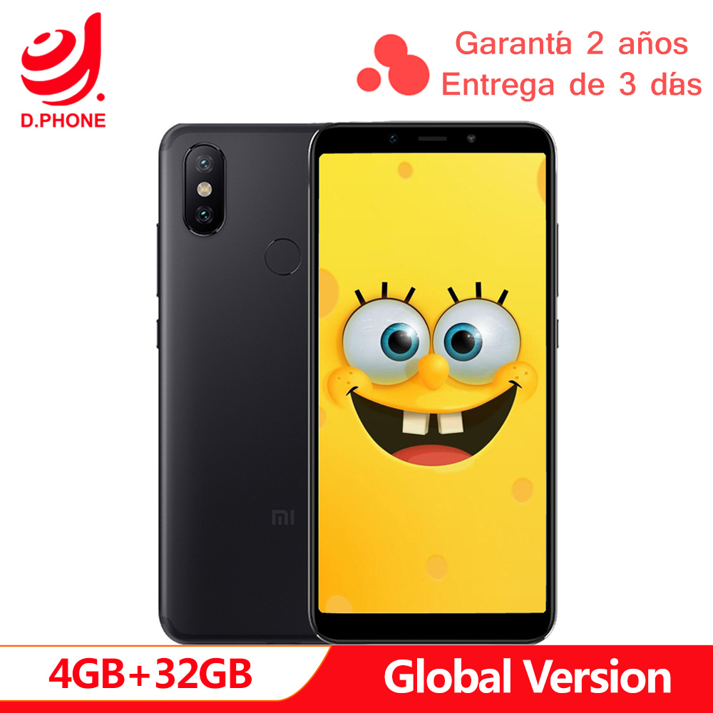 Spain 1~5 Work Days Global Version Xiaomi Mi A2 4GB 32GB Android One 5.99