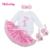 Nuevos 2016 Ropa Para Niños Set Baby Girl Algodón Longsleeve Subdirección Body + Ruffles Tutu Falda Niños Ocasional Ropa Envío Gratis