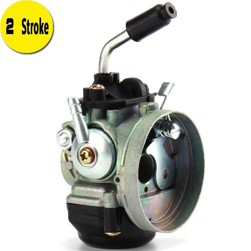 Carburador carb para bicicleta de 2 tempos, motor de bike motorizado mini moto de bolso 50cc 60cc 80cc 47 49cc atv quad