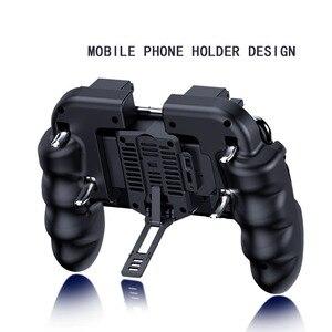 Image 5 - PUBG コントローラファンゲームコントローラ pubg 携帯ゲームトリガー火災ボタン iphone ios ゲームコントローラジョイスティックゲームパッド
