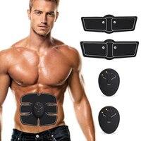 EMS Electric Pulse Treatment Massager Smart Fitness Abdominal Muscle Stimulator Massage Training Device