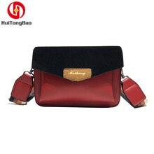 Women Fashion Mini Flap Bag Crossbody Wide Shoulder Strap Single Messenger Cover Party Shopping Luxury Designer Bags