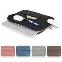 Laptop Accessories Men Women Soft Nylon Notebook Sleeve Multi Pocket For Dell Asus Lenovo HP Apple