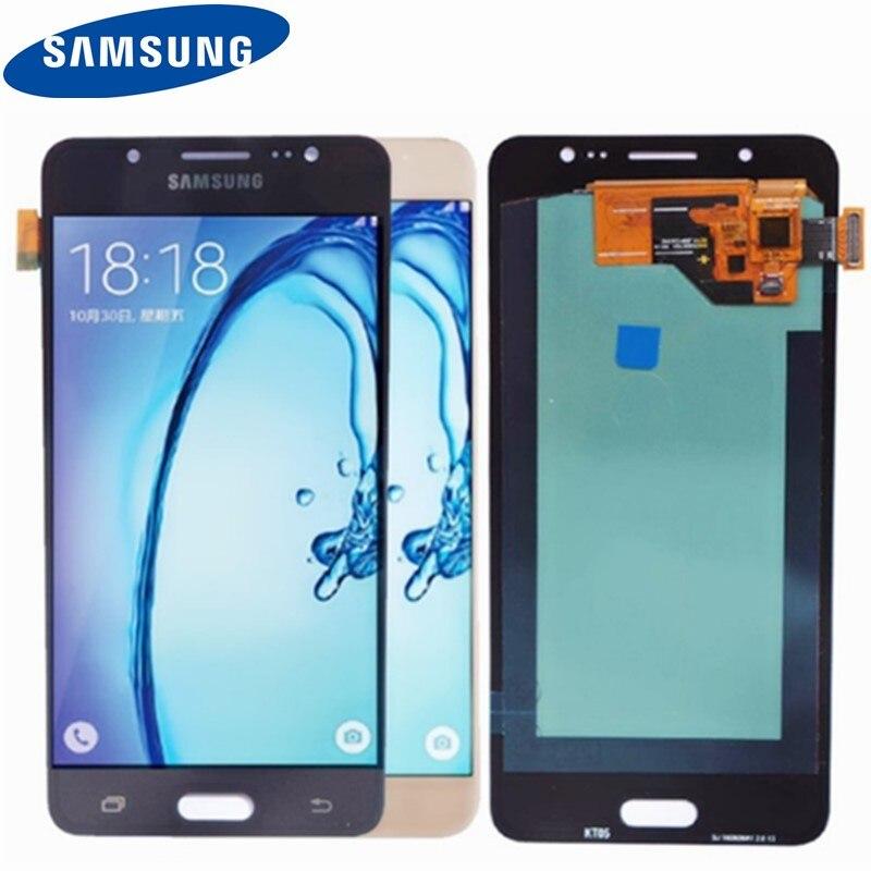 Meilleur AMOLED 5.2 ''Remplacement D'affichage pour SAMSUNG Galaxy J5 2016 LCD J510 J510F J510FN J510M Écran Tactile Digitizer Assemblée