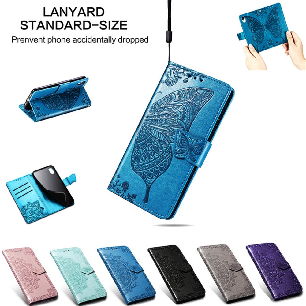 A7 2018 Case on For Samsung Galaxy A7 2018 Cases For Coque Samsung A7 2018 A750 Case Flip Leather 3D Mandala Flower Phone Cover