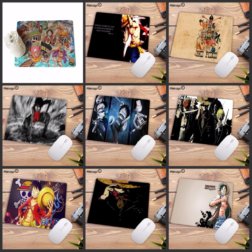 Mairuige Promotion 220*180*2MM One Piece Luffy Wallpaper Computer Mouse Pad Mousepads Decorate Your Desk Non-Skid Rubber Pad