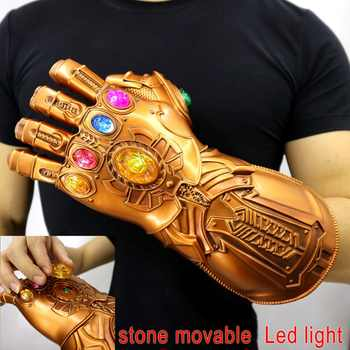 Avengers: Endgame Thanos Infinity Gauntlet Gloves Stone Movable Led Light Infinity War Glove Avengers Thanos Glove Hand Wear - DISCOUNT ITEM  30% OFF All Category