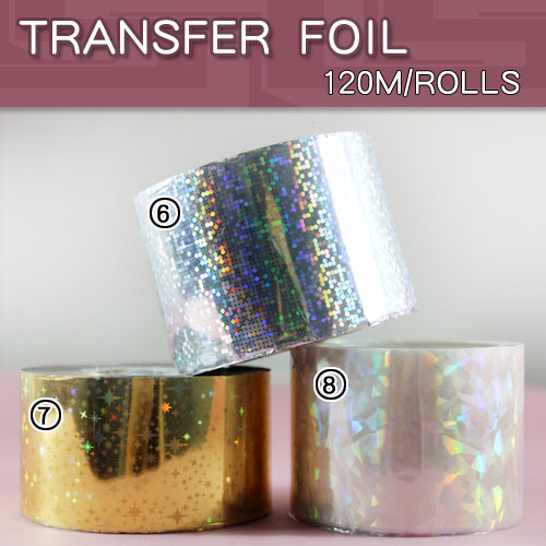 1pcs lot Nail Art Transfer Foil Nail wrape paper Stickers for Nail Art Design in Stickers Decals from Beauty Health