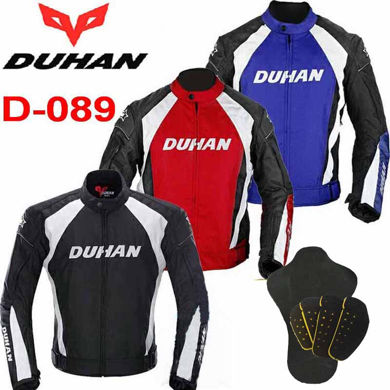 2016 DUHAN D-089 Moto riding clothes Jackets motocross motorcycle jacket Male Motorbike Rally clothing black SIZE XXL M L XL XXL 2017 newest summer mesh duhan motorcycle riding pant moto racing pants man motorbike trousers 600d oxford cloth size m l xl xxl