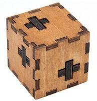 Деревянная коробка Головоломка игра игрушка Развивающие деревянные пазлы для детей и взрослых