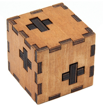 Wooden Box Puzzle Brain Teaser Puzzles Game Toy IQ Educational Wood Puzzles for Kids and Adult