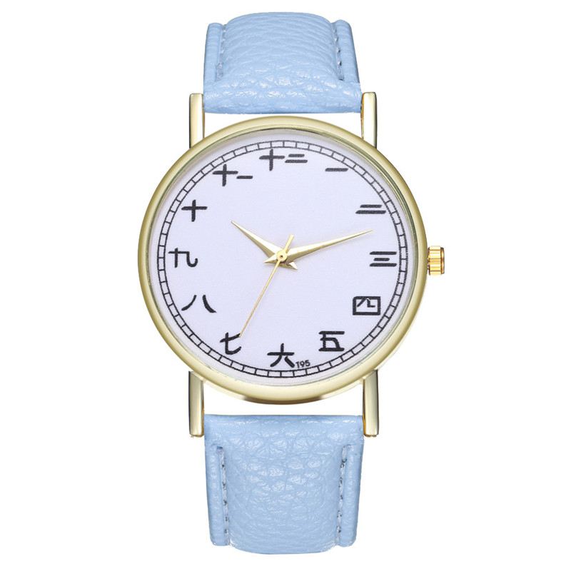 FUNIQUE Creative Watch Women Watch Student Quartz Analog Chinese - Dameure - Foto 1