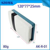 10 pcs, custom enclosure for electronics plastic case 120*77*25mm wall enclosure plastic distribution RFID access control box
