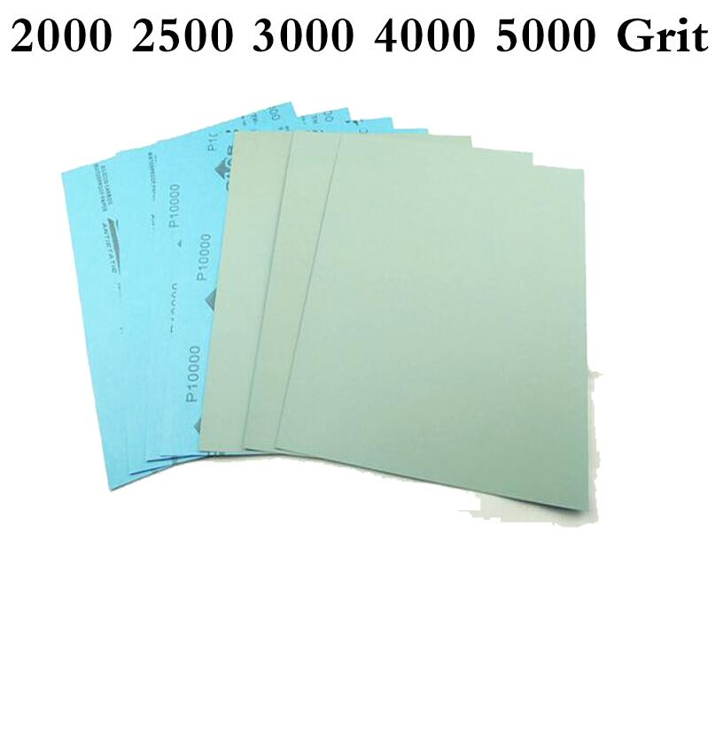 5000 4000 3000 2500 2000 grit Knife car metal polish sandpaper Grinder paper
