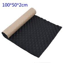 100*50*2cm Car Sound Deadener Noise Insulation Acoustic Dampening Foam Subwoofer Mat auto accessories car-styling