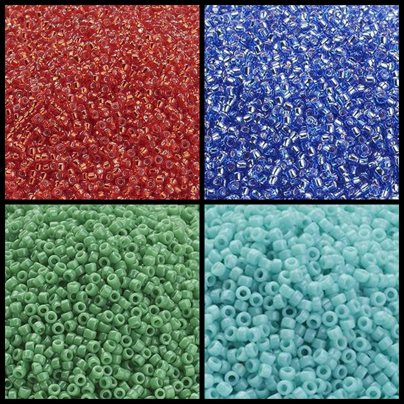 PandaHall 15/0 2400pcs/10g 1.5x1.5mm TOHO Japan Import Glass Bugle Small Tube Stick Small Beads, 2cut Hexagon, Hole: 0.5mm(China)
