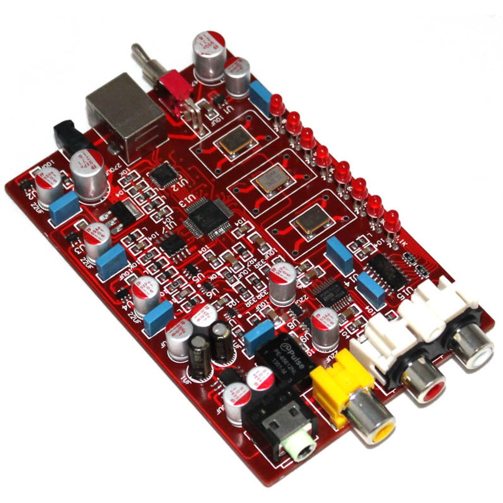 XMOS PCM5102 TDA1308 USB DAC 384KHZ 32bit USB Encoder Finished Board YJ0094 in Amplifier from Consumer Electronics