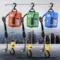 500 кг Портативная Электрическая Лебедка ручная лебедка Тяговый блок Электрический стальной трос подъемная лебедка буксировочная веревка