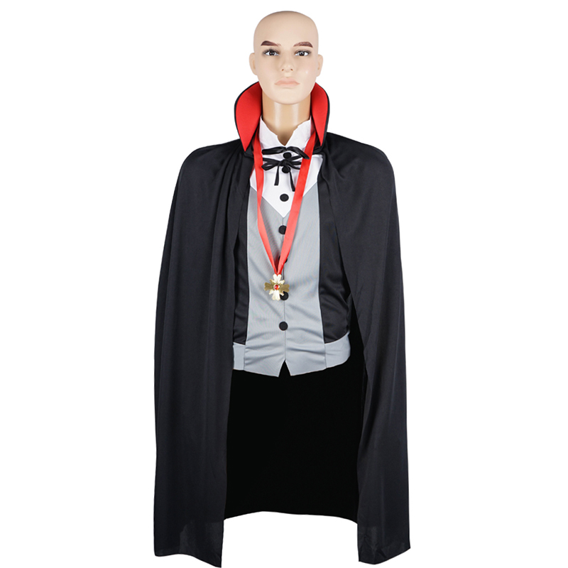 Men V&ire Costume Cloak Cape Scary Party Carnival Halloween Costume Adult Transylvania Midnight Count Dracula Gothic Cosplay-in Holidays Costumes from ...  sc 1 st  AliExpress.com & Men Vampire Costume Cloak Cape Scary Party Carnival Halloween ...
