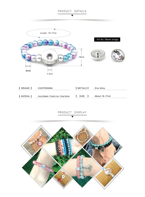 Kids Beads Bracelets