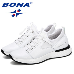 Image 5 - BONA 2019 nouveau populaire chaussures décontractées hommes en plein air baskets chaussures homme confortable à la mode hommes marche chaussures Tenis Feminino Zapatos
