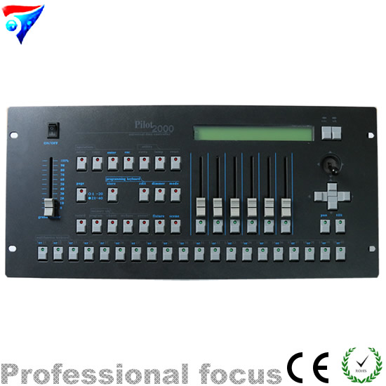 Free Shipping DMX Pilot 2000 Controller For Stage Light Moving Head Light