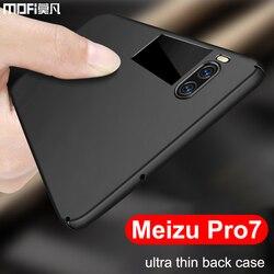meizu pro 7 case meizu pro 7 case cover back ultra thin anti knock luxury black pro7 funda mofi original coque meizu pro 7 case
