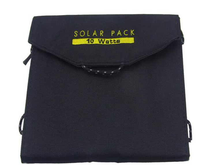 ФОТО Outdoor Portable  10 W Solar Panel USB Charger Foldable Folding Solar Panel Pack Power Source Charge Bag