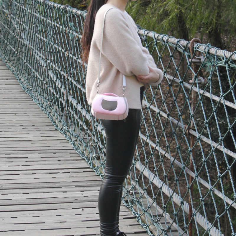 Небольшой мешок ПЭТ переносная сумка животное портативный прогулочный рюкзак хомяк гнездо моль мелких животных сумка принадлежности для домашних животных