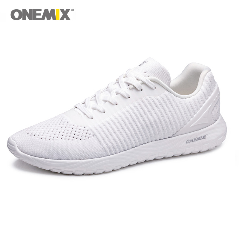 Onemix Men Free Weave Knit Running Shoes 2019 Sneakers Brand Sport Light Comfortable Outdoor barefoot 39-46Onemix Men Free Weave Knit Running Shoes 2019 Sneakers Brand Sport Light Comfortable Outdoor barefoot 39-46