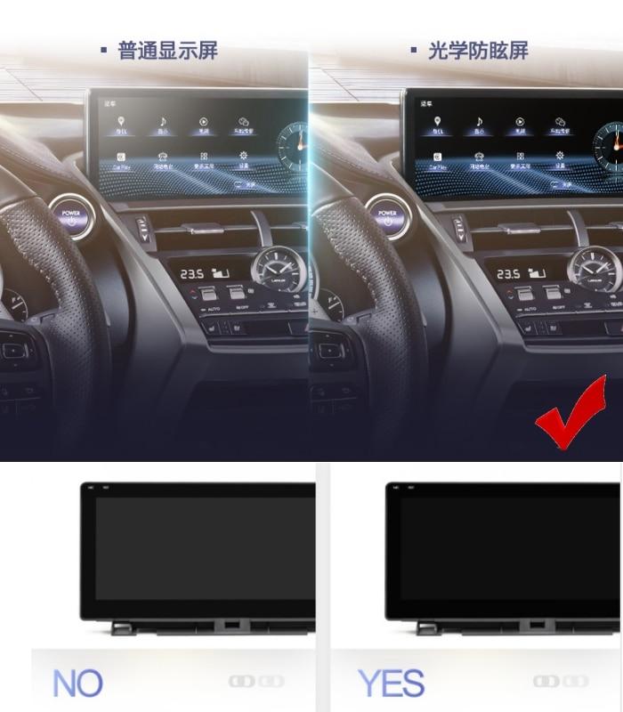 For Lexus RX AL20 RX 200T 450h 2015~2019 Liislee Car Multimedia Player NAVI 12.3 Screen Radio CarPlay Adapter Map GPS Navigation 5