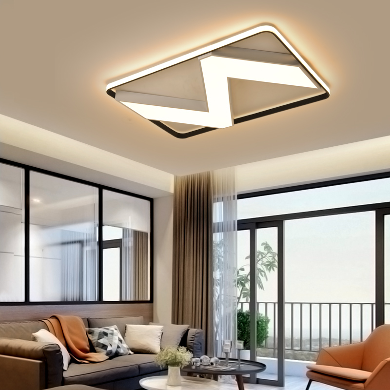 Official Website Regron Simplicity Ceiling Lights Nordic Minimalism Creative Warm Led Ceiling Lamp Modern Control Hanging Lights For Living Room Crazy Price Ceiling Lights & Fans